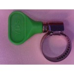 "3/4"" Hose Clamp  (Green)"