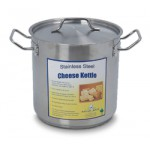 Stainless Cheese Kettle, 8 QT