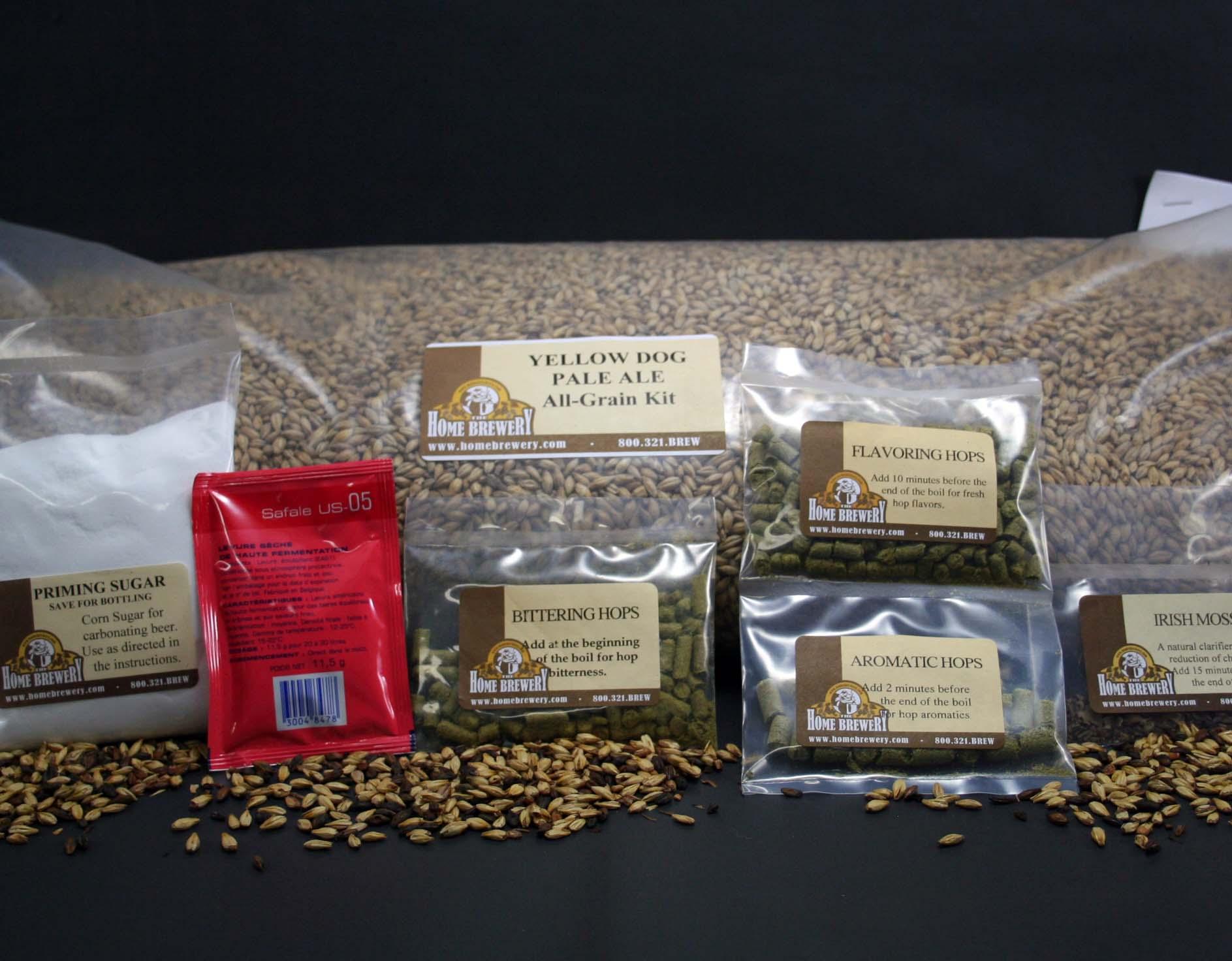 Advanced All Grain Recipe Kit | All Grain Brewing Kit